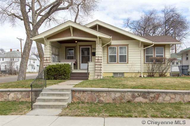 302 E 5TH AVE, Cheyenne, WY 82001 (MLS #81819) :: RE/MAX Capitol Properties