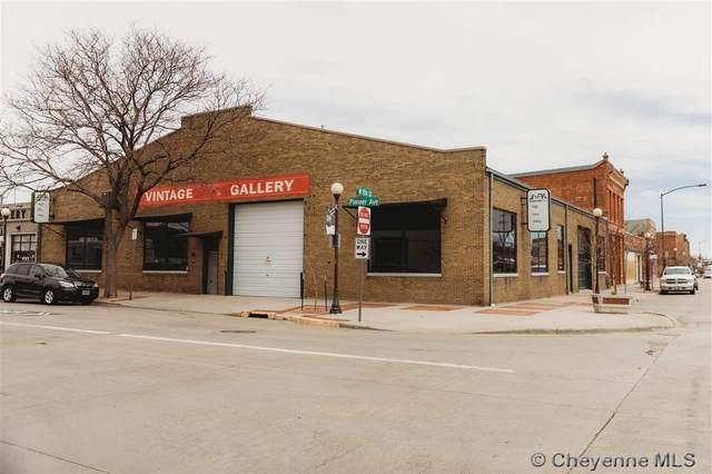 1505 Pioneer Ave, Cheyenne, WY 82001 (MLS #81990) :: RE/MAX Capitol Properties