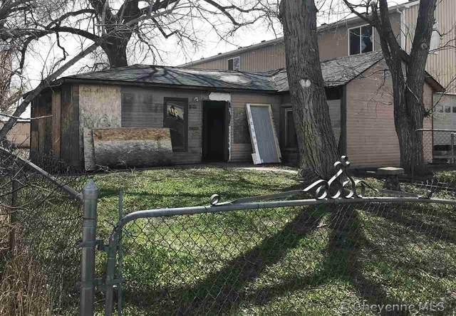1017 W 18TH ST, Cheyenne, WY 82001 (MLS #82057) :: RE/MAX Capitol Properties