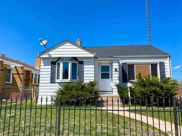 316 E Pershing Blvd, Cheyenne, WY 82001 (MLS #82145) :: RE/MAX Capitol Properties