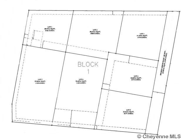 TBD W College Dr, Cheyenne, WY 82007 (MLS #82396) :: RE/MAX Capitol Properties