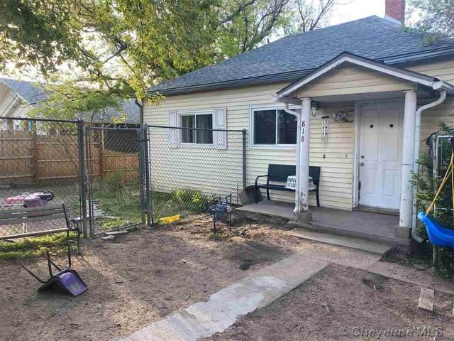 818 W 6TH ST, Cheyenne, WY 82007 (MLS #82412) :: RE/MAX Capitol Properties
