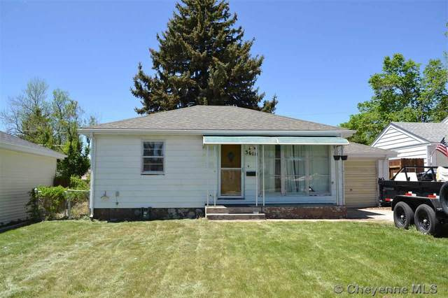3610 Dunn Ave, Cheyenne, WY 82001 (MLS #82443) :: RE/MAX Capitol Properties