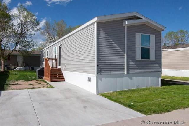 2334 Mccann Ave #54, Cheyenne, WY 82001 (MLS #82487) :: RE/MAX Capitol Properties