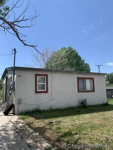 817 & 819 W 9TH ST, Cheyenne, WY 82007 (MLS #82503) :: RE/MAX Capitol Properties
