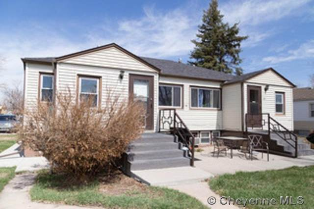 800 E 4TH ST, Cheyenne, WY 82007 (MLS #82554) :: RE/MAX Capitol Properties