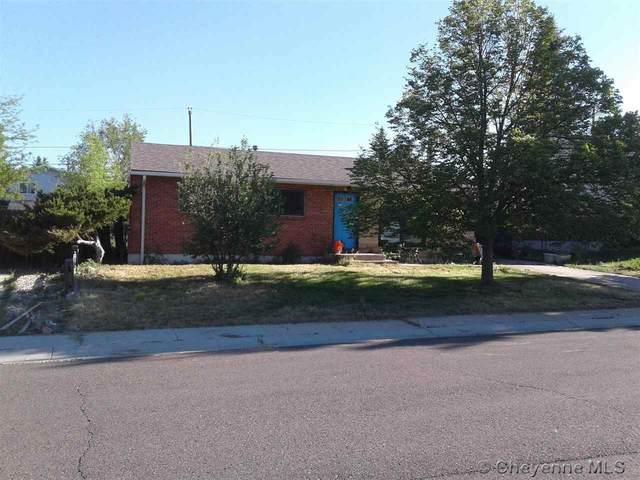 608 Creighton St, Cheyenne, WY 82009 (MLS #82576) :: RE/MAX Capitol Properties