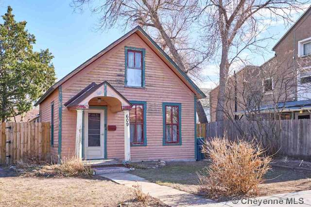 609 E 19TH ST, Cheyenne, WY 82001 (MLS #82608) :: RE/MAX Capitol Properties