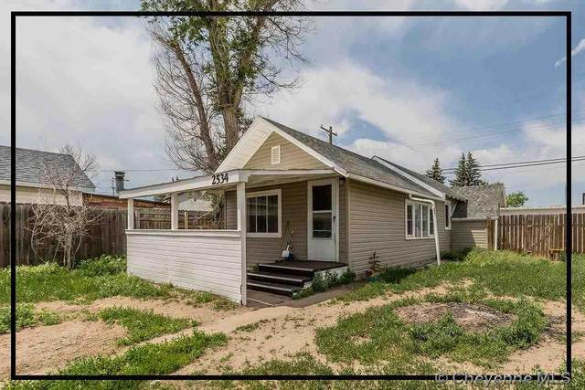 2534 E 12TH ST, Cheyenne, WY 82007 (MLS #82617) :: RE/MAX Capitol Properties