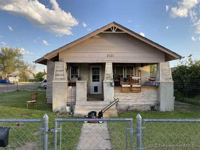 2121 E 12TH ST, Cheyenne, WY 82001 (MLS #82681) :: RE/MAX Capitol Properties