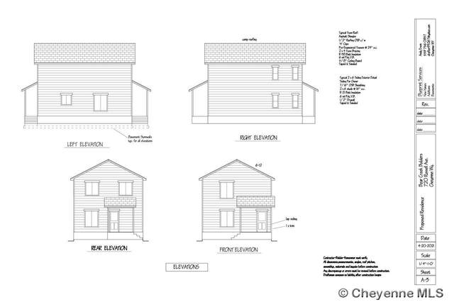 720 Russell Ave, Cheyenne, WY 82007 (MLS #82752) :: RE/MAX Capitol Properties