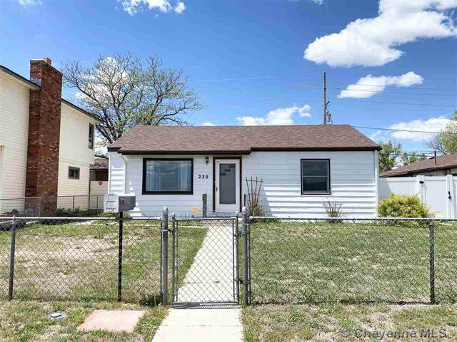 220 Derr Ave, Cheyenne, WY 82007 (MLS #82945) :: RE/MAX Capitol Properties