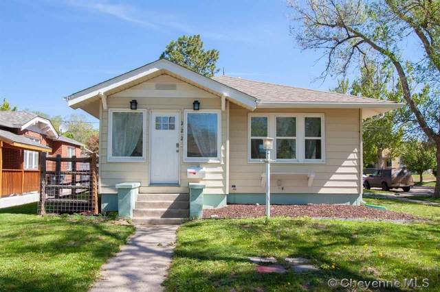 222 E 5TH AVE, Cheyenne, WY 82001 (MLS #82949) :: RE/MAX Capitol Properties