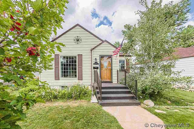 314 E 2ND AVE, Cheyenne, WY 82001 (MLS #83030) :: RE/MAX Capitol Properties
