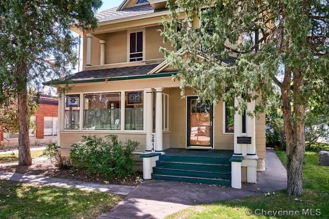 2614 Pioneer Ave, Cheyenne, WY 82001 (MLS #83610) :: RE/MAX Capitol Properties