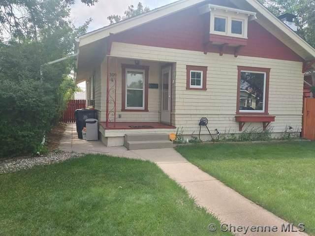 1309 W 31ST ST, Cheyenne, WY 82001 (MLS #83685) :: RE/MAX Capitol Properties