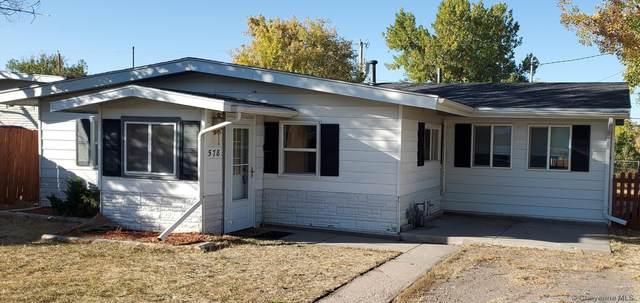 578 W 6TH ST, Cheyenne, WY 82007 (MLS #83863) :: RE/MAX Capitol Properties