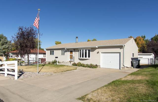 4318 E 6TH ST, Cheyenne, WY 82001 (MLS #83878) :: RE/MAX Capitol Properties