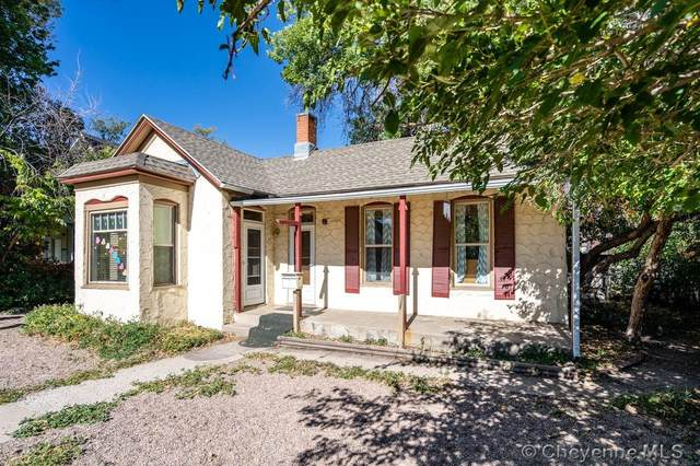 508 E 17TH ST, Cheyenne, WY 82001 (MLS #83936) :: RE/MAX Capitol Properties