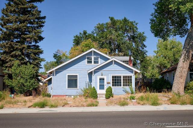 708 E 19TH ST, Cheyenne, WY 82001 (MLS #83970) :: RE/MAX Capitol Properties
