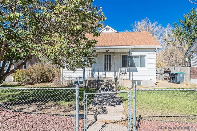 1418 W Pershing Blvd, Cheyenne, WY 82001 (MLS #84029) :: RE/MAX Capitol Properties