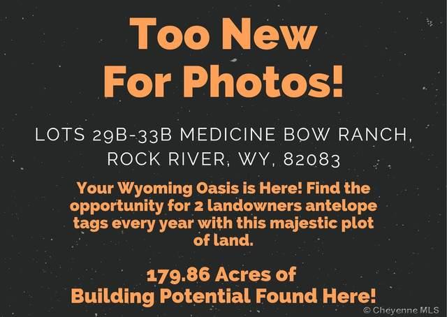 Lots 29B-33B Medicine Bow Ranch, Rock River, WY 82083 (MLS #84073) :: RE/MAX Capitol Properties