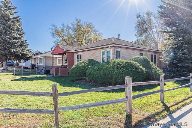 2521 E 18TH ST, Cheyenne, WY 82001 (MLS #84083) :: RE/MAX Capitol Properties