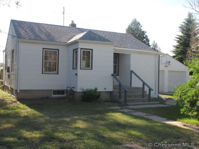 2101 S 5TH AVE, Cheyenne, WY 82007 (MLS #68053) :: RE/MAX Capitol Properties