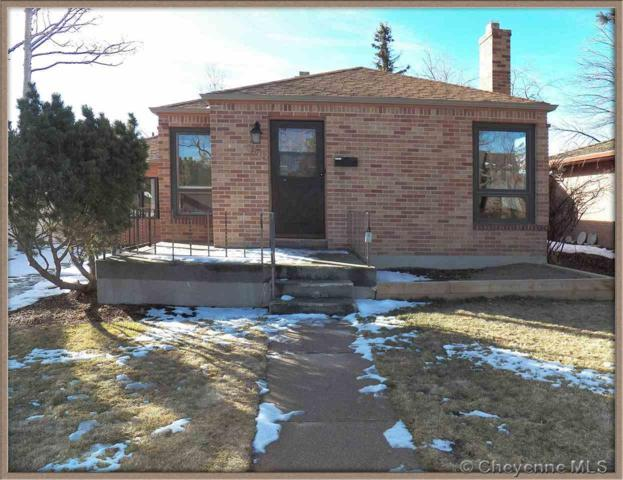 4012 Reed Ave, Cheyenne, WY 82001 (MLS #70401) :: RE/MAX Capitol Properties