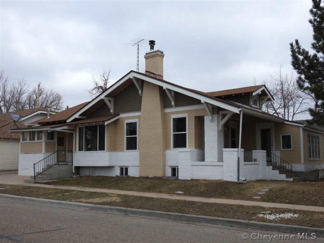 302 E Pershing Blvd, Cheyenne, WY 82001 (MLS #70903) :: RE/MAX Capitol Properties