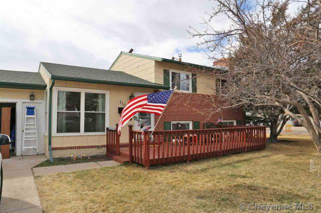 710 Cleveland Ave, Cheyenne, WY 82001 (MLS #71003) :: RE/MAX Capitol Properties