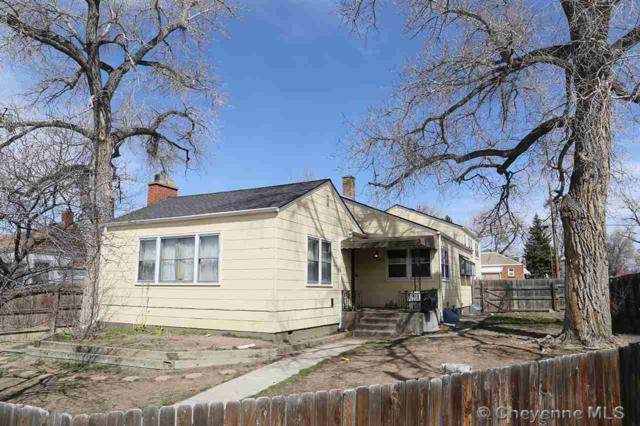 1842 E 18TH ST, Cheyenne, WY 82001 (MLS #71100) :: RE/MAX Capitol Properties