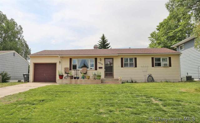 4015 E 7TH ST, Cheyenne, WY 82001 (MLS #71929) :: RE/MAX Capitol Properties