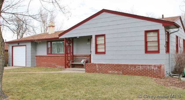 1813 Park Ave, Cheyenne, WY 82007 (MLS #74052) :: RE/MAX Capitol Properties