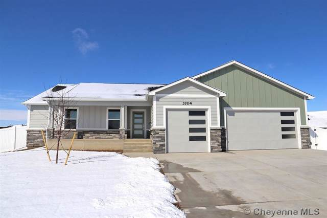 3704 Edison Ct, Cheyenne, WY 82009 (MLS #74114) :: RE/MAX Capitol Properties