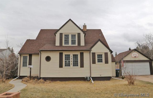 1943 Cheyenne Pl, Cheyenne, WY 82001 (MLS #74423) :: RE/MAX Capitol Properties