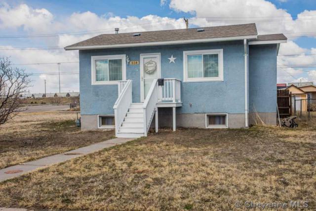 518 W 10TH ST, Cheyenne, WY 82001 (MLS #74520) :: RE/MAX Capitol Properties
