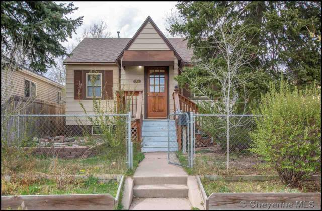 908 E 22ND ST, Cheyenne, WY 82001 (MLS #74829) :: RE/MAX Capitol Properties