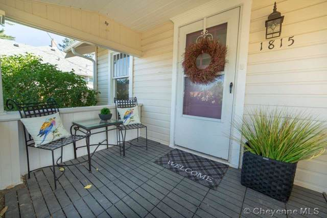 1815 Dunn Ave, Cheyenne, WY 82001 (MLS #76037) :: RE/MAX Capitol Properties