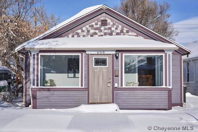 408 E 20TH ST, Cheyenne, WY 82001 (MLS #76942) :: RE/MAX Capitol Properties