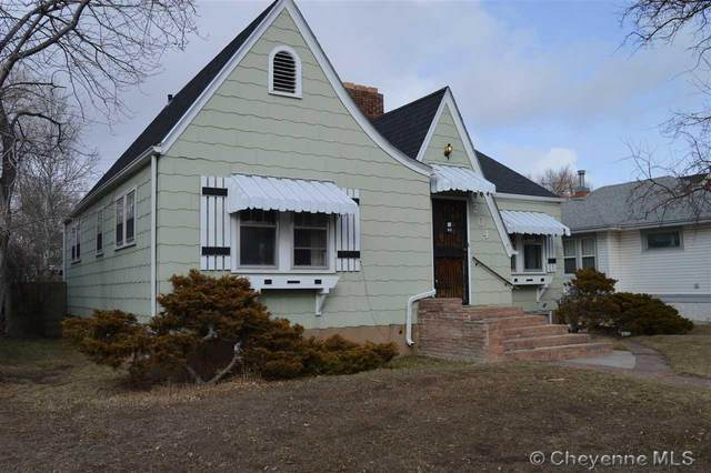 204 E 4TH AVE, Cheyenne, WY 82001 (MLS #77553) :: RE/MAX Capitol Properties