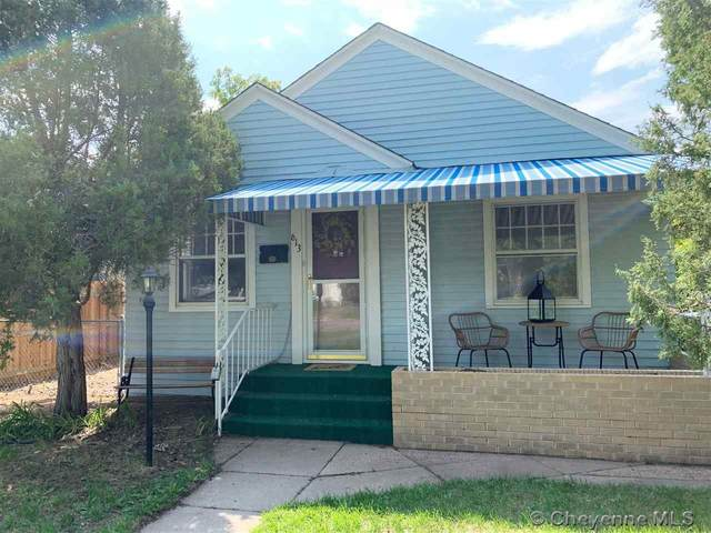 613 E 27TH ST, Cheyenne, WY 82001 (MLS #79640) :: RE/MAX Capitol Properties