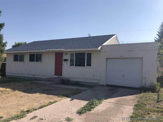 213 Ames Ave, Cheyenne, WY 82007 (MLS #79846) :: RE/MAX Capitol Properties