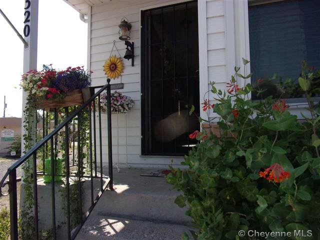 1320 Cleveland Ave, Cheyenne, WY 82001 (MLS #79922) :: RE/MAX Capitol Properties