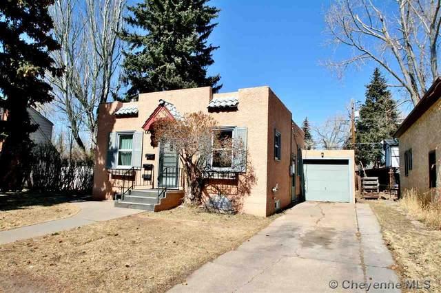 1517 E Sheridan St, Laramie, WY 82070 (MLS #81607) :: RE/MAX Capitol Properties