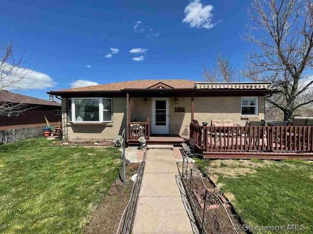 4104 Rawlins St, Cheyenne, WY 82001 (MLS #82106) :: RE/MAX Capitol Properties