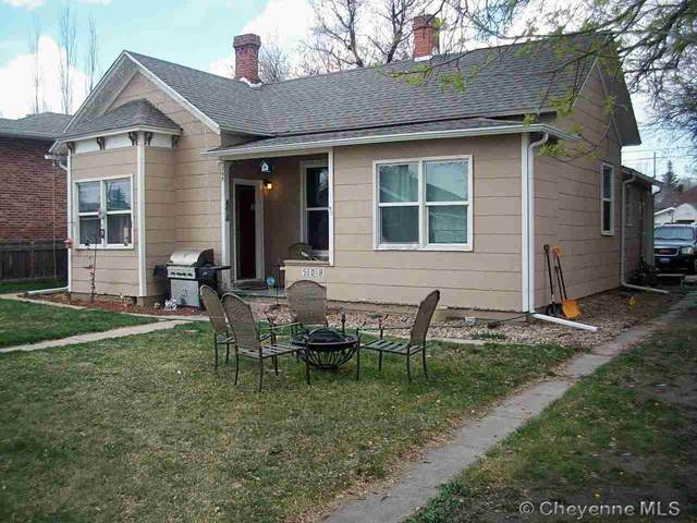 508 E 19TH ST, Cheyenne, WY 82001 (MLS #82258) :: RE/MAX Capitol Properties