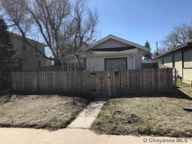 215 W 10TH ST, Cheyenne, WY 82007 (MLS #82287) :: RE/MAX Capitol Properties