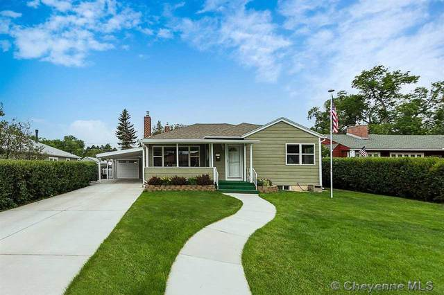 3908 Dey Ave, Cheyenne, WY 82001 (MLS #82925) :: RE/MAX Capitol Properties