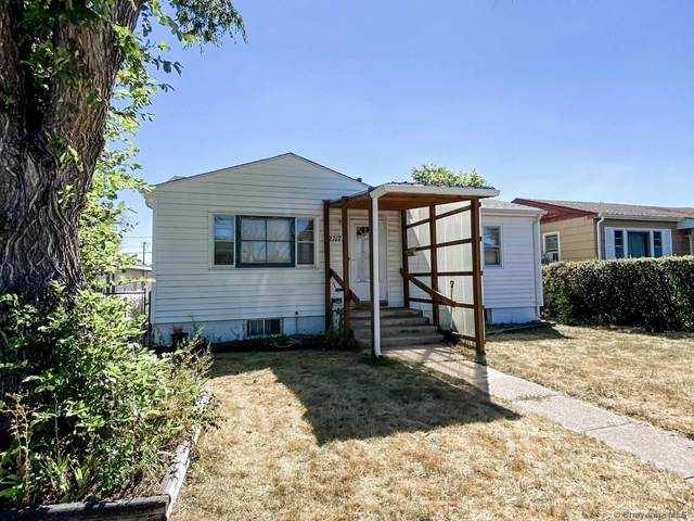 2717 E 12TH ST, Cheyenne, WY 82001 (MLS #83643) :: RE/MAX Capitol Properties
